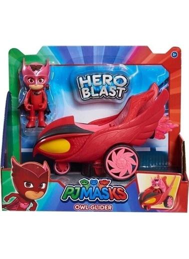 Giochi Preziosi Giochi Preziosi Pijamaskeliler Hero Blast Araç Owl Glider Renkli Figür Renkli